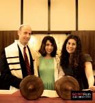 At The Torah - Bat Mitzvah Photography