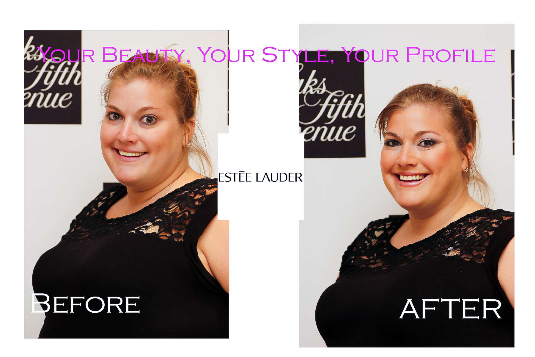 Estee Lauder Before & After